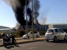 Embedded thumbnail for Incendio en el Poligono Oeste de Alcantarilla, Murcia